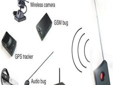 detektory RF signálu